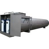 Резервуар объемом 20м3 (двустенный/двухсекционный) кол-во ТРК - 2 шт