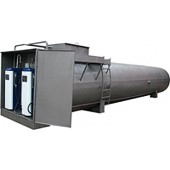 Резервуар объемом 25м3 (двустенный/двухсекционный) кол-во ТРК - 2шт