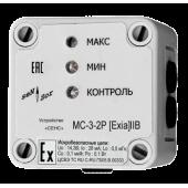 Сигнализатор МС-3-2Р для датчиков уровня и электроконтактных манометров